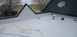 Toiture en membrane TPO toit plat